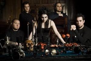 Kukkants be az interaktív Evanescence mobil backstage-be!