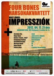 5 év után ismét Budapesten az Impressziók!