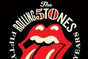 Ünnepi logó az 50 éves Rolling Stones-nak