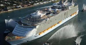 A világ legnagyobb luxus óceánjáró hajói