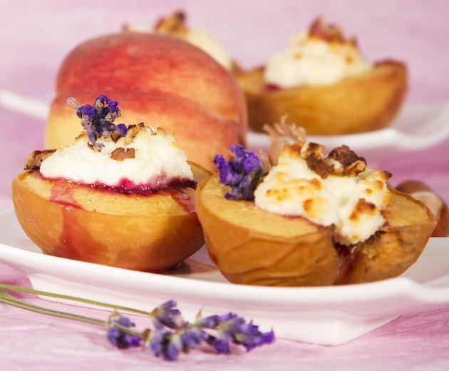 Grillezett őszibarack mascarponéval - egyszerű és könnyű desszert