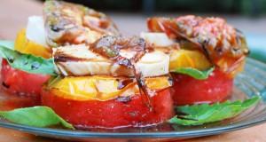 Grillezett dinnye – recept