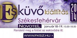 Esküvői kiállítás 2014. január 18-19. – Székesfehérvár, Novotel
