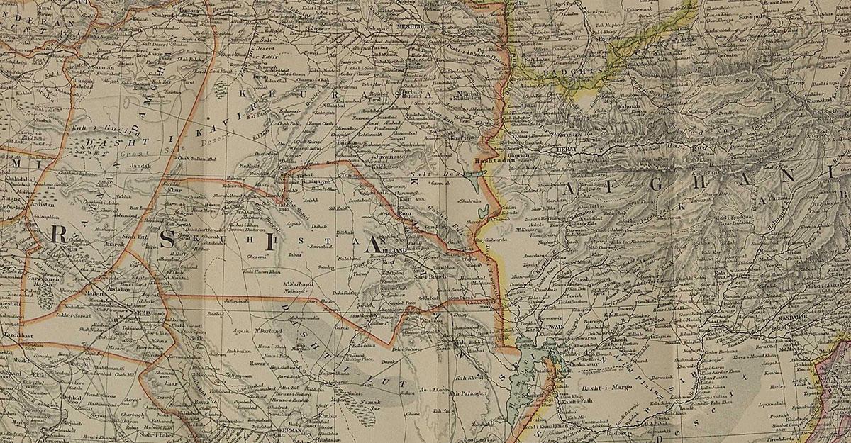 Régi, hagyományos térkép