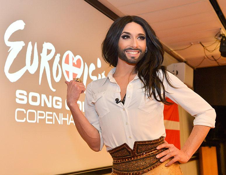 Az Eurovíziós Dalfesztivál 2014. nyertese: Conchita Wurst
