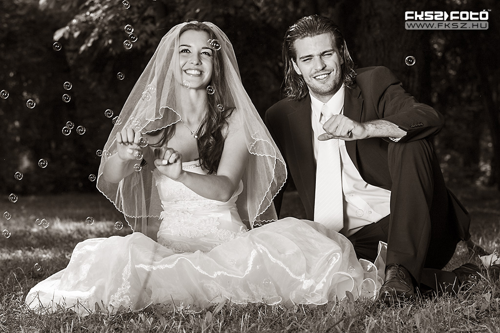 Esküvő: az örömteli Pár