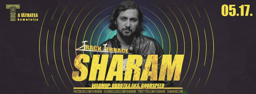 Track Terrace Grand Opening /w SHARAM