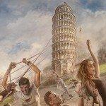 Pisai ferde torony - Részlet 2.